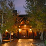 Western Colorado All Inclusive Resort - Evening Glow Front Door